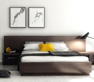 t te de lit sur mesure qu bec. Black Bedroom Furniture Sets. Home Design Ideas